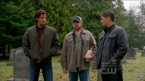 I have to mention three awesome people? Sam Winchester, Dean Winchester, and Bobby Singer from [i]Supernatural[/I].