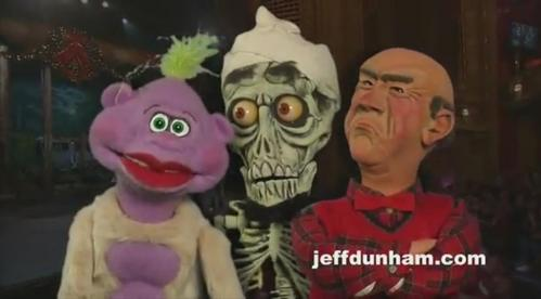 Peanut, Achmed, and Walter god damn it!