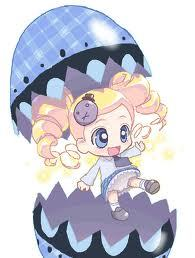 its shugo chara and powerpuff girls-z nayn :3 a bubble chara i wonder thr charaeter transfrom ould bee like