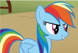 RainbowDash's Voice(MLP) is the voice of the tikus from ikan hooks