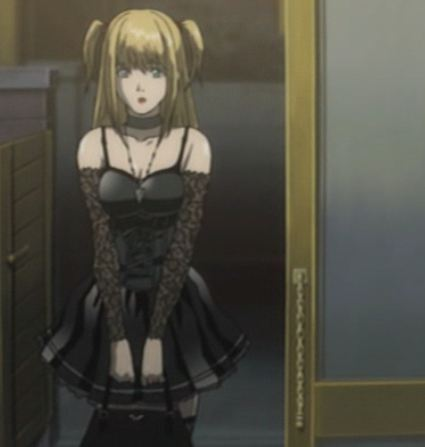 Misa from Death Note - I like her style ^^