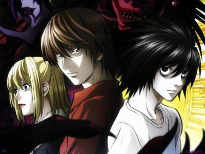 here is from death note