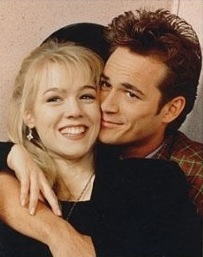 Dylan and Kelly from Beverly Hills 90210 :D