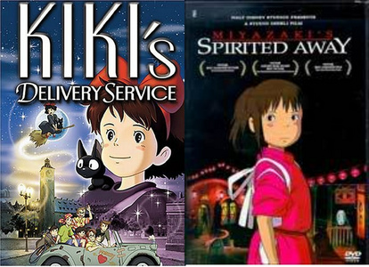 "The 'kiki movie' that you're talking about is ""Kiki's Delivery Service"". I can understand why your friend was a little confused, it's por the same director of spirited away."