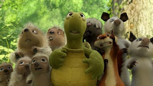 OVER THE HEDGE?!
