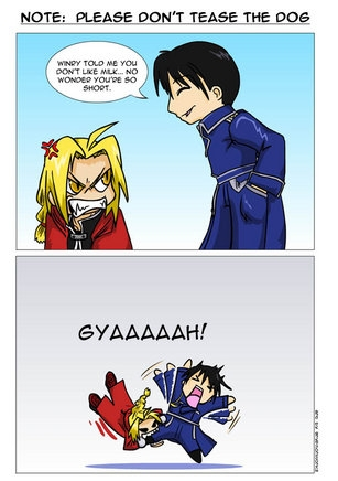 <b>Oh Boy,Ed Really got Roy here!..tee hee.XD..but I imagine this hurts.</b>