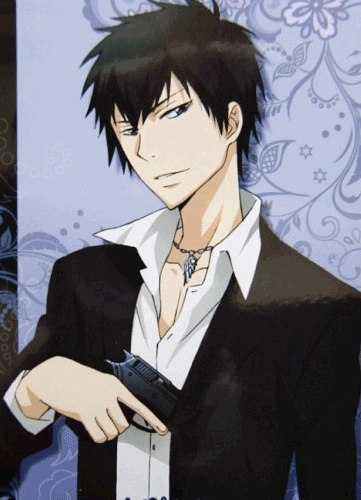he's ok, i like his hairstyle :D Mine is Hibari Kyoya from Katekyo Hitman Reborn in Ten years later version~ he is so cool!