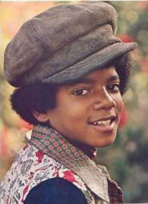 This is the most innocent picture I could find of MJ...as a kid :)