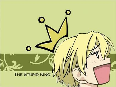 the king of the host club XD