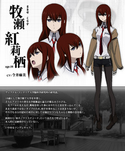 I'm probably going as Makise Kurisu from Steins; Gate