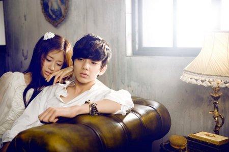 Park Ji Yeon and Yoo Seung Ho :]