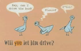 Don't Let The Piegon Drive The Bus. .______. I do NOT read Книги for big kids.