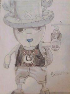 Tony Tony Chopper. He has 8 forms (including monster point) and I'm surprised he wasn't added yet! Heres a drawing I did of him :)