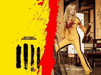 Kill Bill volumes 1 and 2. BEST. MOVIES. EVER. It's always been my favorite. No other movie can compare. Uma Thurman for life! <3