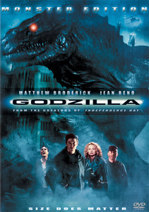 I've had a hard time coming up with an answer for this question, since I have a lot of お気に入り movies. However, I decided to go with the very first movie I ever saw (no really, I saw this when I was just a baby). That movie is Godzilla 1998 (shut it, haters).