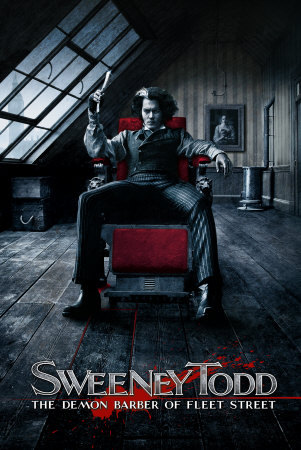 Sweeney Todd: the Demon Barber of Fleet Street. But there's no place like.. London... >:)