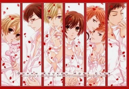 how about ouran high school host club?