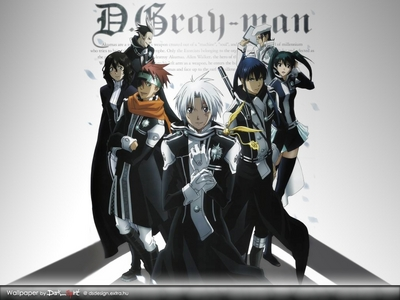 D. Gray-man, It's awesome and has 103 episodes