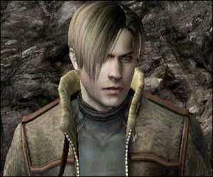 One of my crush in fictional character is... Leon Scott Kennedy from Resident Evil series.