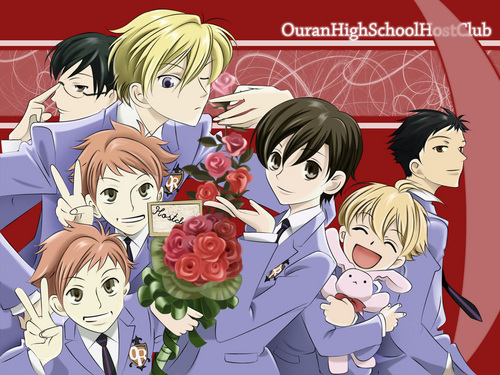OURAN HIGH SCHOOL HOST CLUB...THE ANIME (see the picture below)AND THE LIVE ACTION