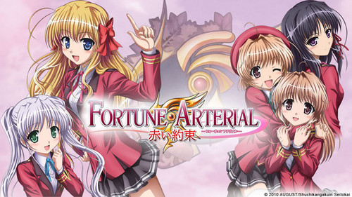 Try Fortune Arterial. It's like Vampire Knight only it has more cuteness and less mystery.
