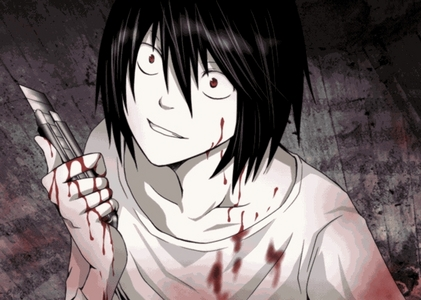 My first fictional crush was on Beyond Birthday! even though he was a serial killer XD