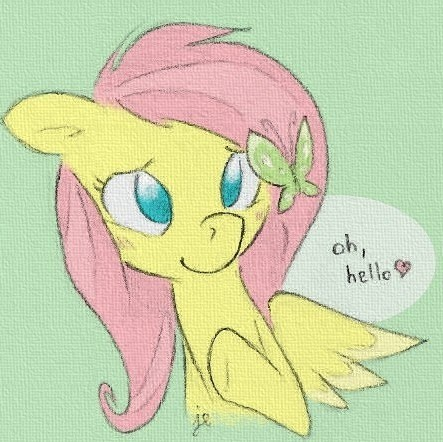 Fluttershy. We're so alike in personality that it's uncanny. ._. ♥