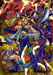 With my bad memory, I can't remember a cartoon show; However, I can easily remember Yu-Gi-Oh being an animé montrer that I always wathced when I was a child and I still watch it today.
