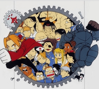 <b>hmm..Best anime..so many choices and I love so many,but I'll go with Fullmetal Alchemist here.</b>