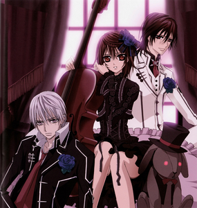 I have to go with Vampire Knight! All my life I've been searching for such an anime!!! And finally...! :D