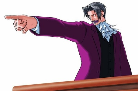 """""""I object! That was... objectionable."""" -Miles Edgeworth"""