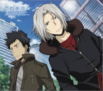 Yamamoto and Gokudera