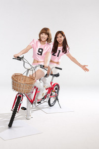 My 2nd fave - Taetae and my 3rd fave - Yuri ^^