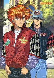 Tasuki and tamahoma from fushigi yugi!!!!!!!!!!!!!! :D