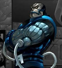 En Sabah Nur / Apocalypse from X-men. He's totally crazy. And there's plenty plus of insane people in the X-men Universe. Madelyne Pryor, Vulcan, sometimes Polaris, Sabretooth, Deadpool, etc.