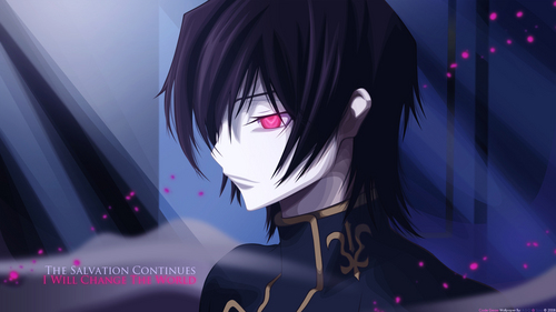 1.Code Geass 2. エンジェル Beats 3. Darker Than Black
