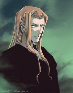 Probably Vexen from Kingdom Hearts. I've yet to encounter another Vexen Fan. It's kind of frustrating, actually.