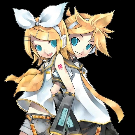 Len from Vocaloid *dreamy eyes* ahhh sooo hot....not rin but Len