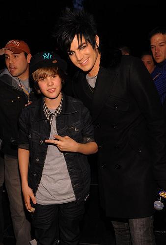 Justin Bieber (worst) And Adam Lambert (best)
