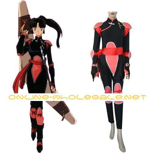 I'm gonna be Sango! :D (Im not buying this costume, but Im basing the one Im making off it)