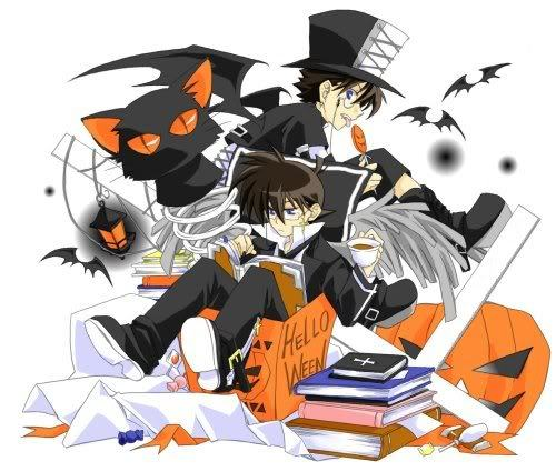 Kaito and Shinichi from Case Closed!!!!