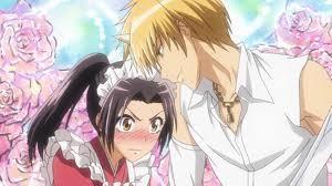 Misaki blushing!!!