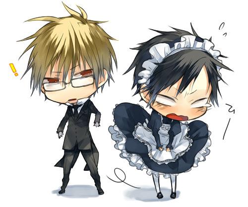 Izaya blushing!!!>_<