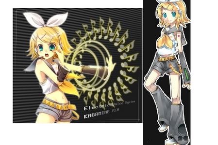 I'm going as Kagamine Rin!