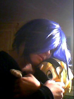 as nothing....but I actually wanted to wear my Konan wig but I didn't =P