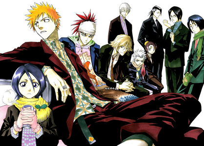 Allot of the guys from Bleach.