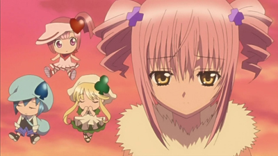 How about this.... Amu from Shugo Chara