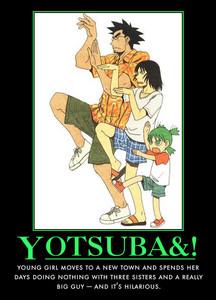 Yotsuba :3(green haired girl)