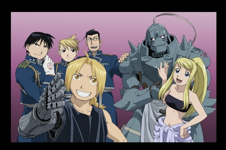 fullmetal alchemist brotherhood!