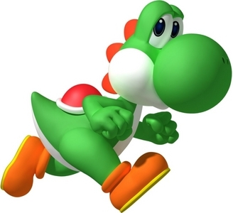 definitely Yoshi <3 he is sooo cute- I just 愛 him <3 I also like Peach..she's pretty ;)